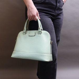 Kate Spade Mint Green Leather Wellesley Rachelle Shoulder Bag